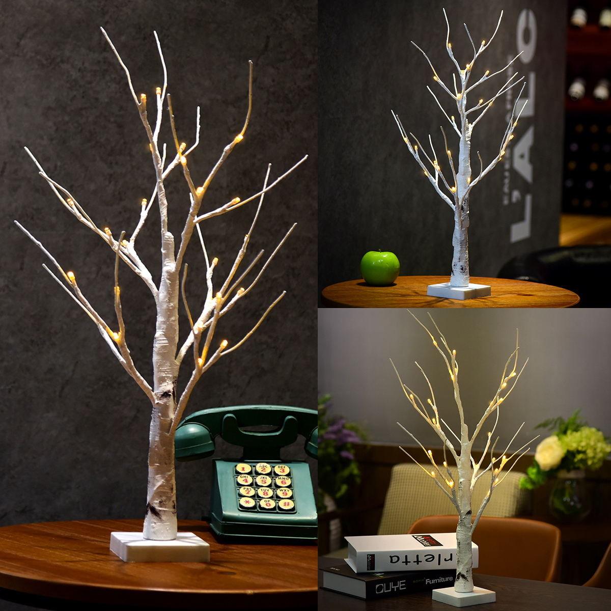 Excelvan Desk Lighted Tree Light