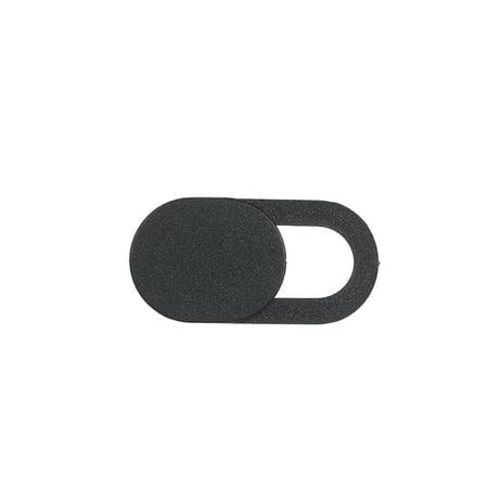 Webcam Cover Shutter Protector Slider Camera Cover Sticker for Webcam PC Laptops Mobile Phone Ellipse (Black) - image 4 de 7