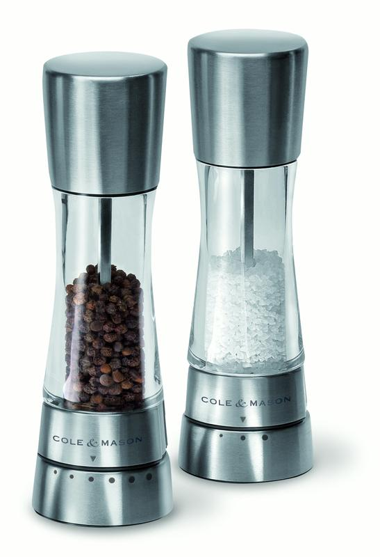 Cole and Mason Derwent Pepper Mill, Silver by DKB Household