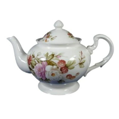 English Teapot - Delton 8091-6 English Rose Tea Pot
