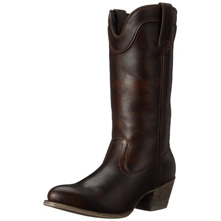 Ariat Women's Bluebell Boot (Brushed Brown) (Ariat Womens Cowboy Boots)