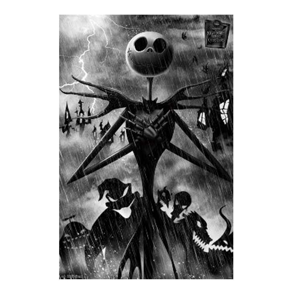 Nightmare Before Christmas Shadows Poster