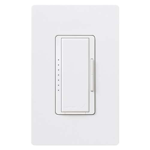 Lutron RRD-6NA-WH Radio RA 2 Neutral Wire Phase Adaptive Dimmer Incandescent Halogen... by Lutron