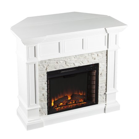 Boston loft furnishings ryland electric fireplace with Loft fireplace