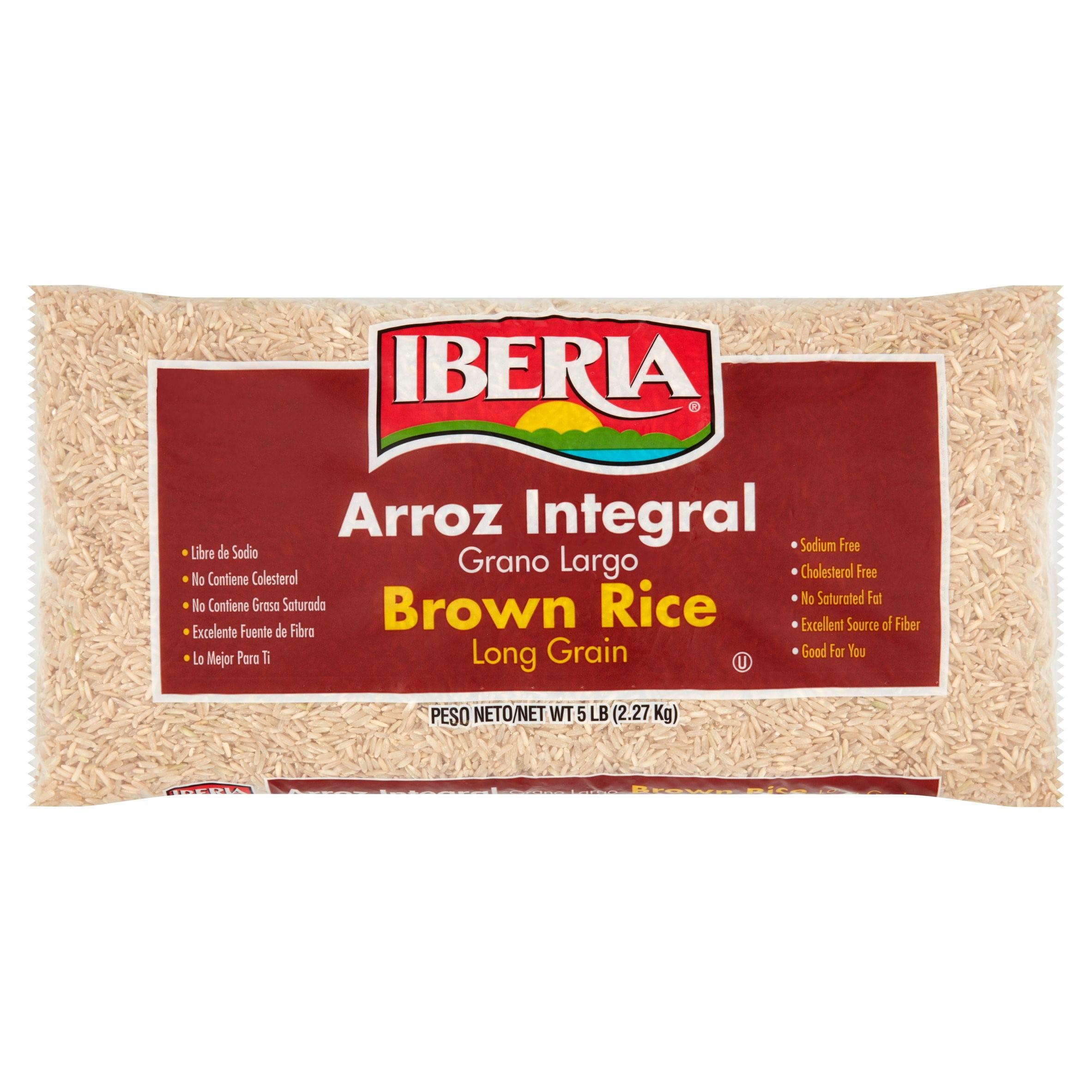 Iberia Long Grain Brown Rice, 5 lb