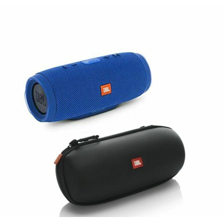 JBL Charge 3 - Blue with Authentic JBL Carrying Case