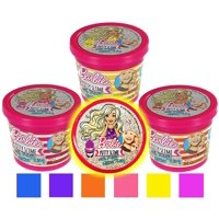 Barbie Putty Slime 3-Pack Magic Glitter Ring Mattel