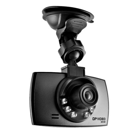 DP Video HD DashCam with Night Vision