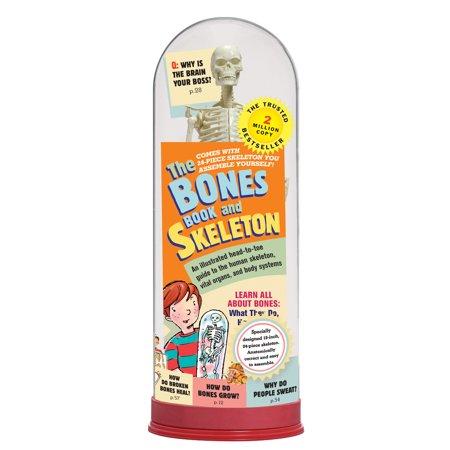 The Bones Book and Skeleton - Bones Skeleton