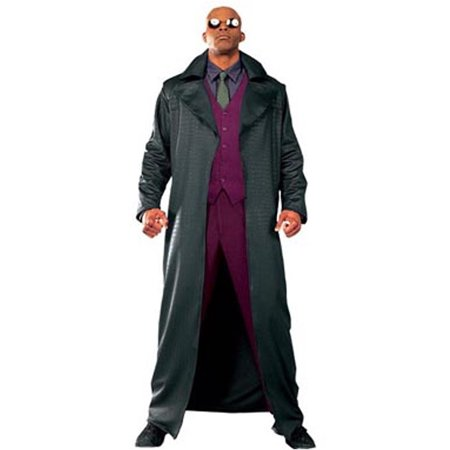 Adult Matrix Morpheus Costume Rubies 15037 (Halloween Costume Ideas Trench Coat)