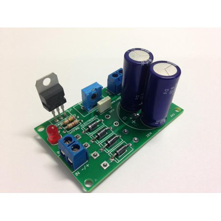 1.5Amp Adjustable Power Supply Kit - PRE ASSEMBLED BY NIGHTFIRE ELECTRONICS LLC