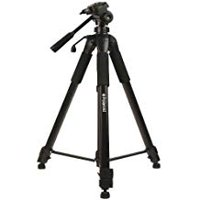 Polaroid 72-inch Photo / Video ProPod Tripod Includes Deluxe Tripod Carrying Case + Additional Quick Release Plate For Digital C