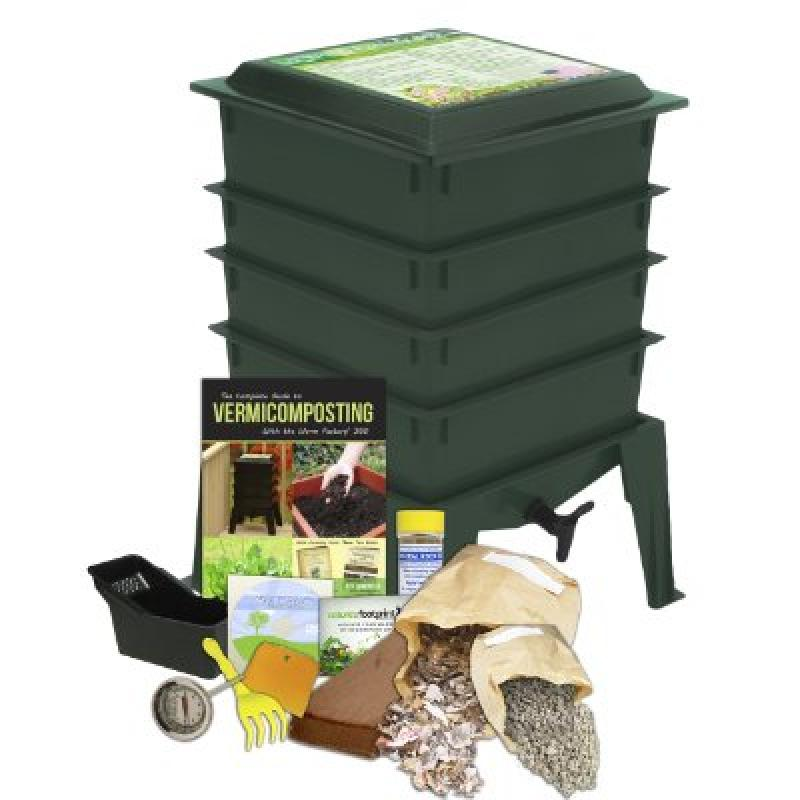Worm Factory 360 4 Tray  - Green