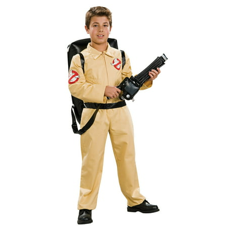 Deluxe Ghostbusters Childrens Costume - The Real Ghostbusters Halloween
