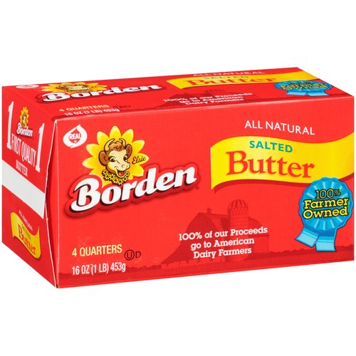 Borden: Salted 4 Ct Butter, 1 Lb