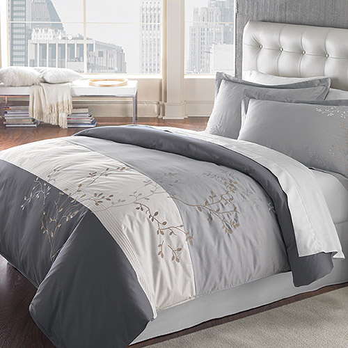 springmaid my finest 3-piece bedding duvet collection, adelaide