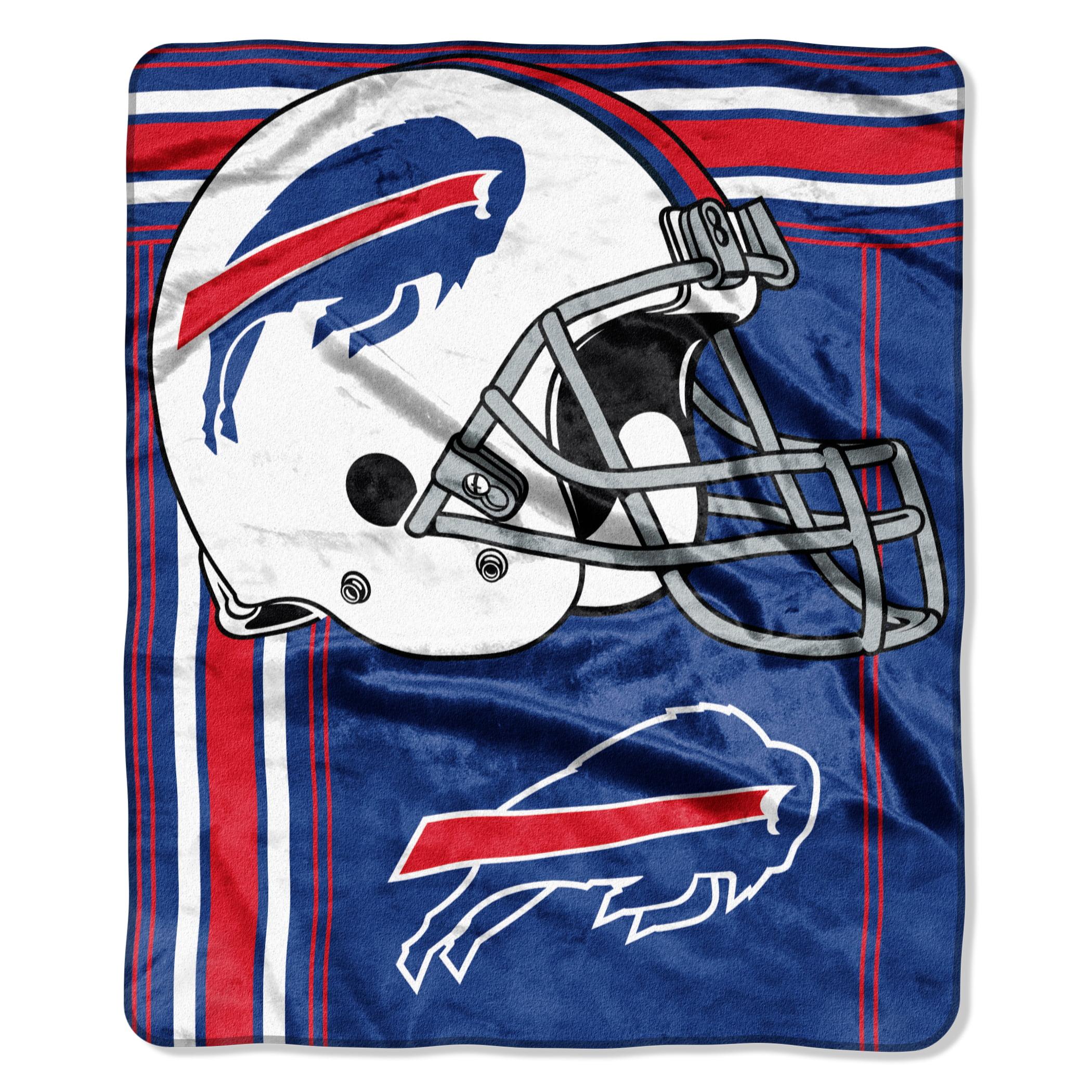 Buffalo Bills Blanket - 50x60 Royal Plush Raschel Throw - To