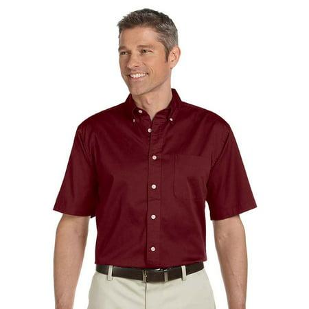 Chestnut Hill Men's 32 Singles Short Sleeve Twill Shirt Chestnut Hill 32 Singles