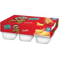 Pringles Snack Stacks! Original Potato Crisps Chips 8 oz 12 ct