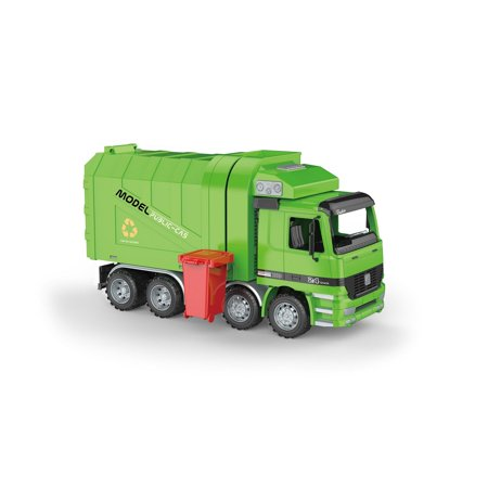Friction Powered Recycling Garbage Truck With Side Loading (Loading Garbage)