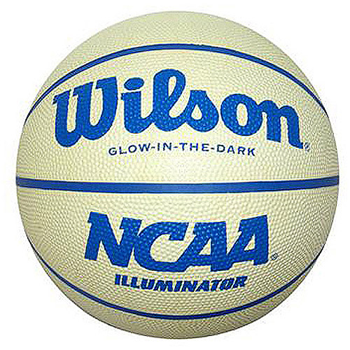 Wilson NCAA Illuminator - GLOW IN THE DARK BASKETBALL