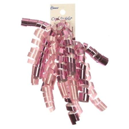 Berwick Offray 78891 Curl Swirl Ribbon - Pink -