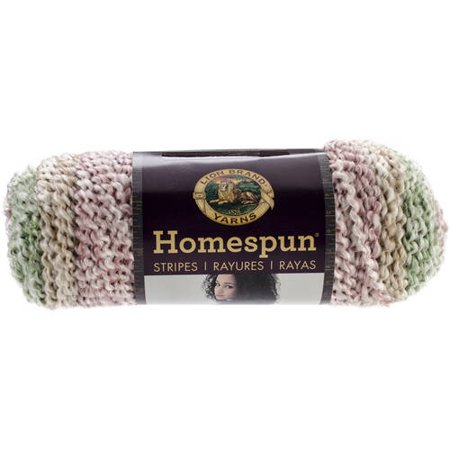 - Lion Brand Yarn Homespun Sundae Stripes 790-220 Fashion Yarn