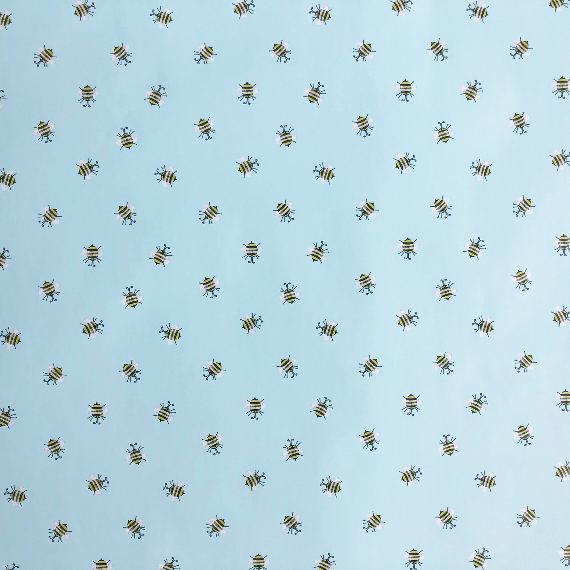 Jillson & Roberts Gift Wrap, Honey Bees (8 Rolls 5ft x 30in)