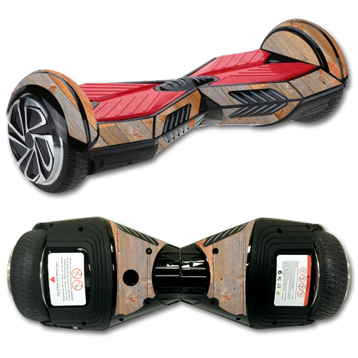 MightySkins Protective Vinyl Skin Decal for Board Balance Board Scooter 2 wrap cover sticker skins Barnwood