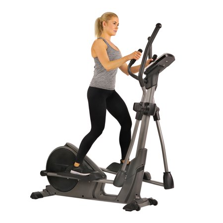 Sunny Health & Fitness SF-E3912 Motorized Elliptical Trainer with Device Holder, 300 LB Max Weight