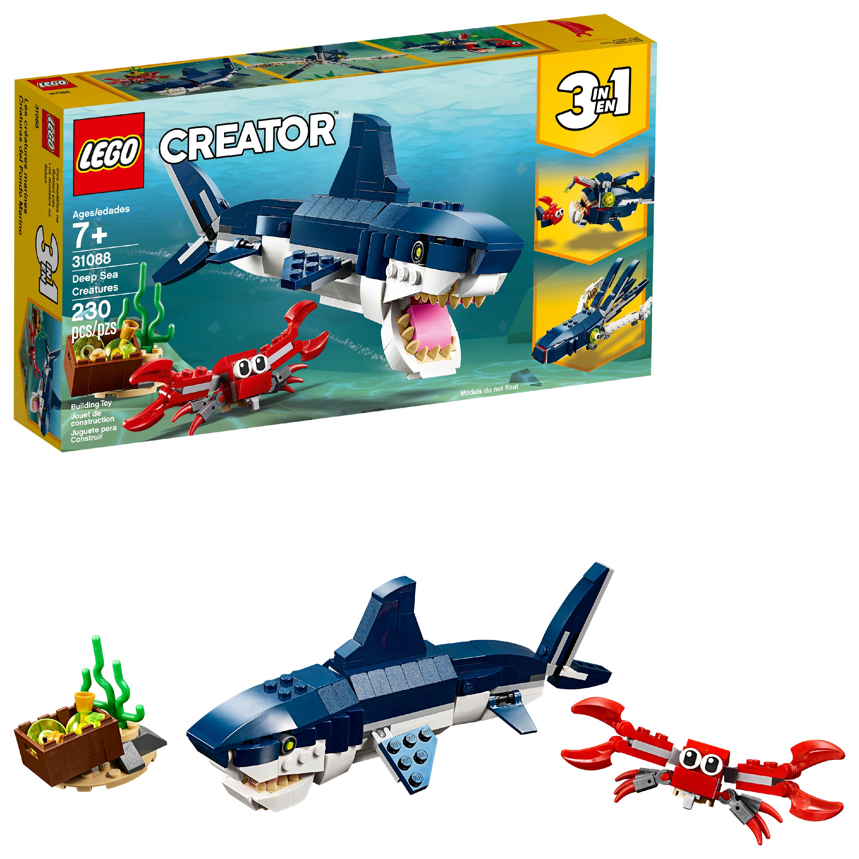 LEGO Creator 3in1 Deep Sea Creatures 31088 Building Set