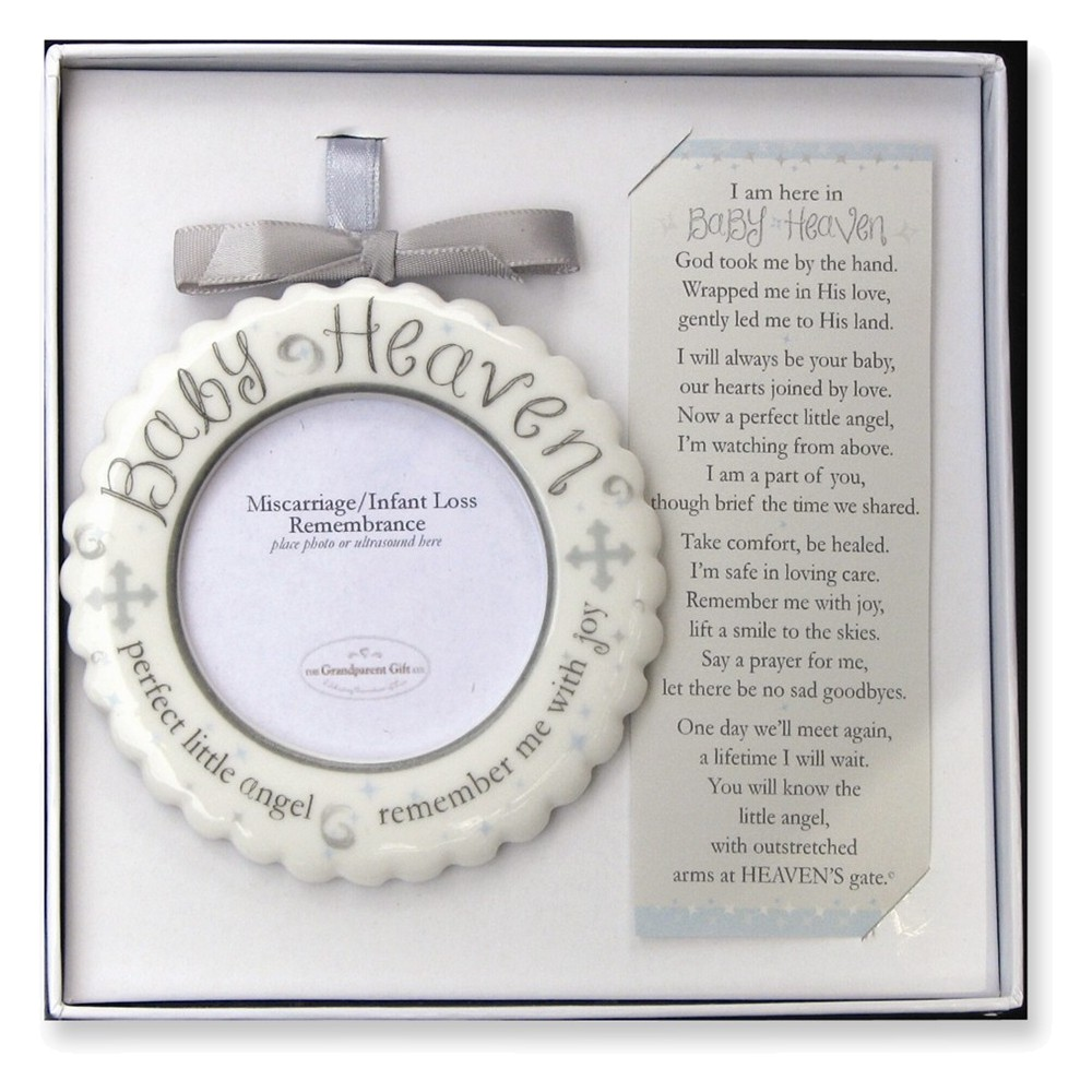 Baby Heaven Memorial Ornament Boxed w/Poem