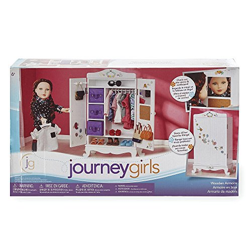 Journey Girls Wooden Armoire by Toys R Us