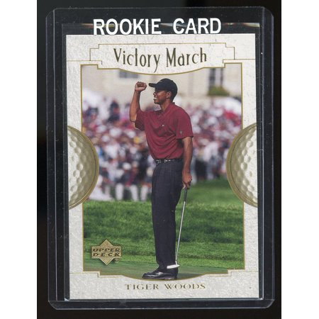 2001 Upper Deck Victory March #151 Tiger Woods Rookie Card