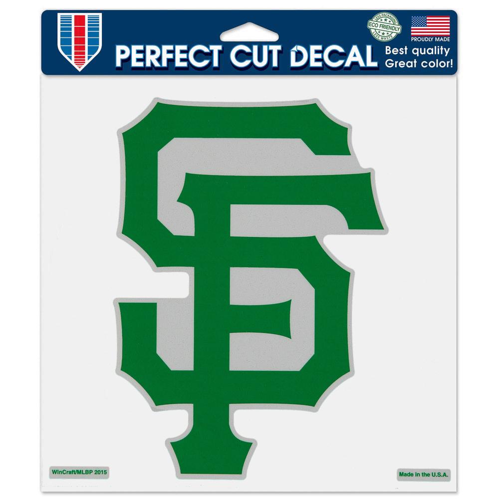 "San Francisco Giants WinCraft Irish 8"" x 8"" Color Decal - No Size"
