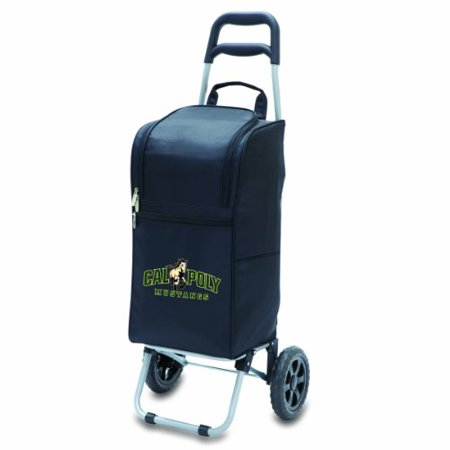 Cal Poly Mustangs - Cart Cooler by Picnic Time (Black) - image 1 of 1