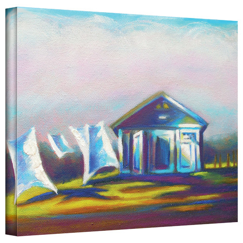 ArtWall 'March Laundry' by Susi Franco Painting Print on Canvas