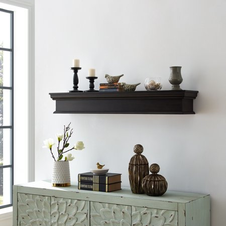 Mantel Light Traditional Mantel (Adom Fireplace Mantel Shelf, Traditional, Smoked Ash )