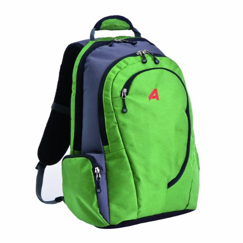 Athalon Luggage Computer Backpack, Grass Green, One Size