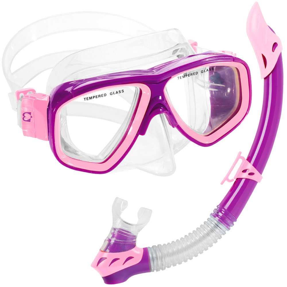 Cressi Rocks Kids   Junior   Children Mask Snorkel Combo Package by
