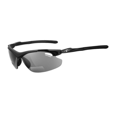 Tifosi Dolomite 2.0 Lenses - TYRANT 2.0,MATTE BLACK +2.5 READER LENS SUNGLASSES SMOKE READER +2.5 LENSES