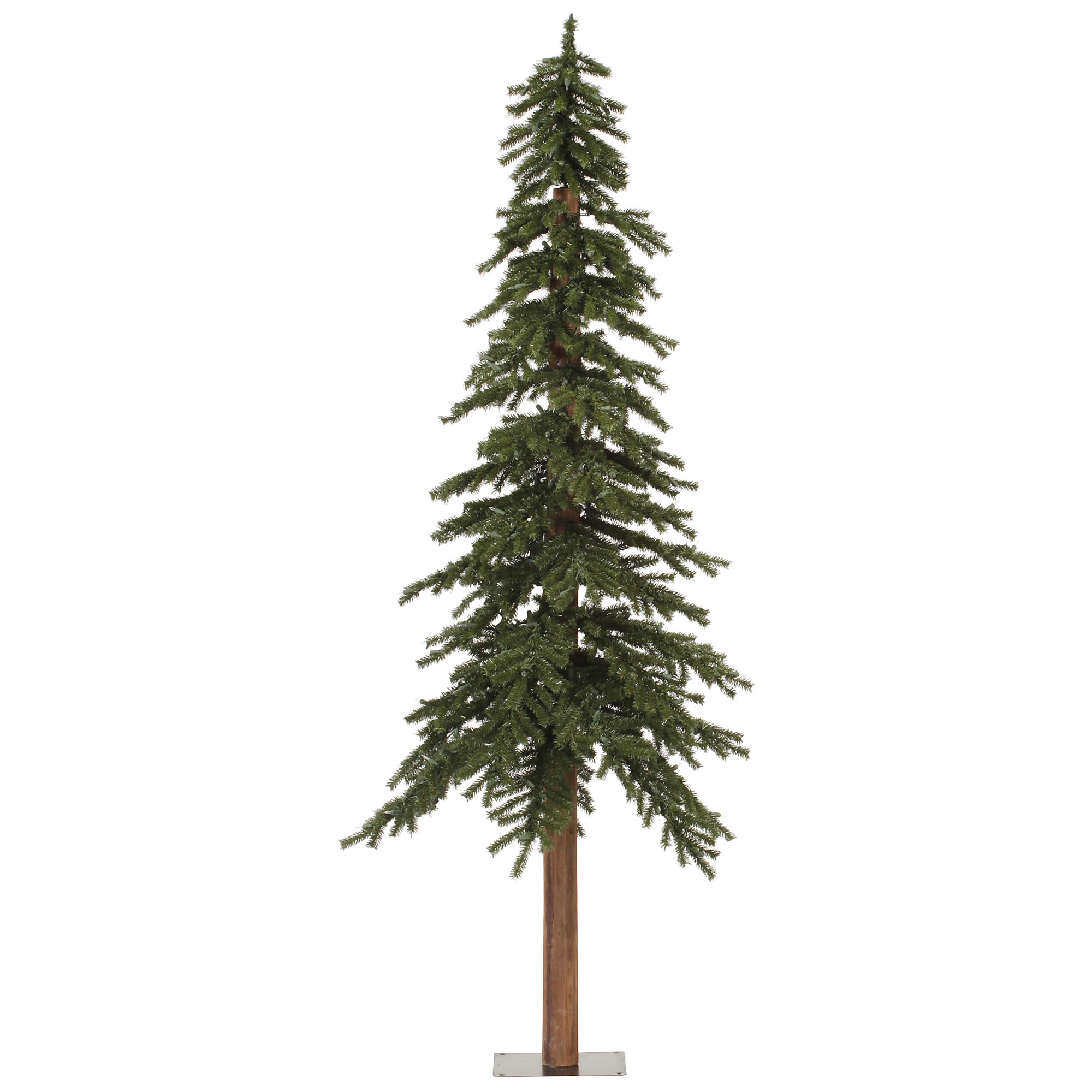 "Vickerman Artificial Christmas Tree 8' x 50"" Natural Alpine Tree 1221 Tips"