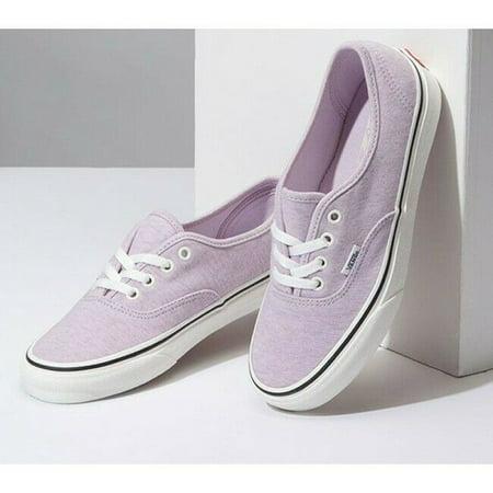 Vans Authentic Jersey Lavender Fog/Snow White Men's Classic Skate Shoes Size (Best Snow Skate Shoes)