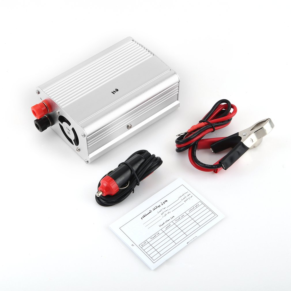 SAA500W Modified Sine Wave Car Auto Power Inverter Vehicl...