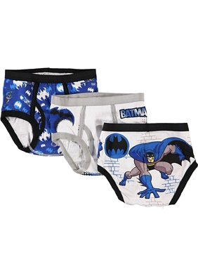 Batman, Little Boys Underwear, 3 Pack Comic Blast Briefs (Little Boys)