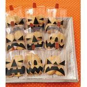Animal Masquerade Treat Bags, Makes 12, Jack-O-Lantern