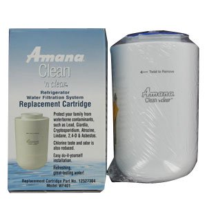Amana 12527304 Clean 'n Clear Refrigerator Water