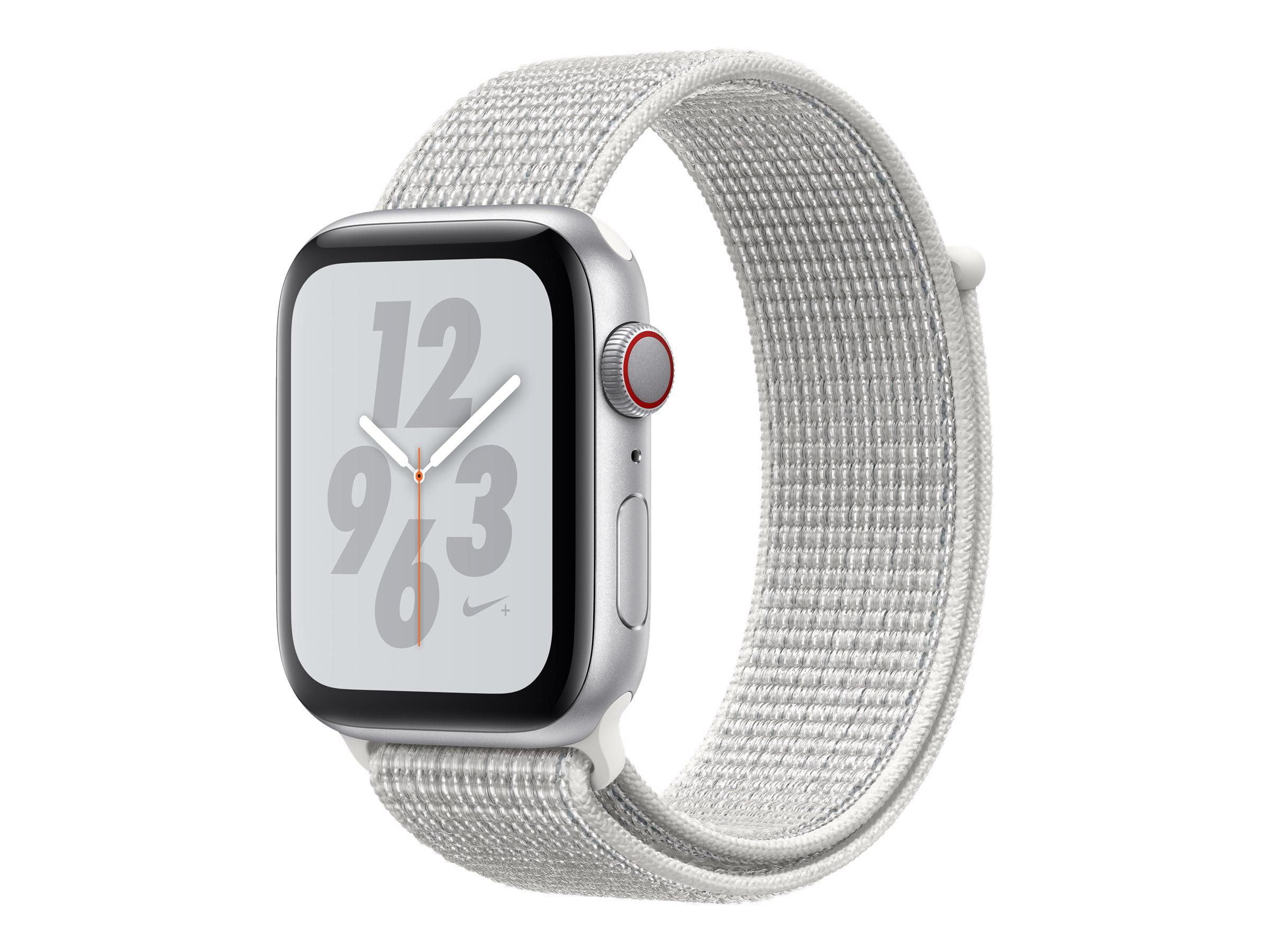 Apple Watch Nike Series 4 GPS, 44mm Silver Aluminum Case