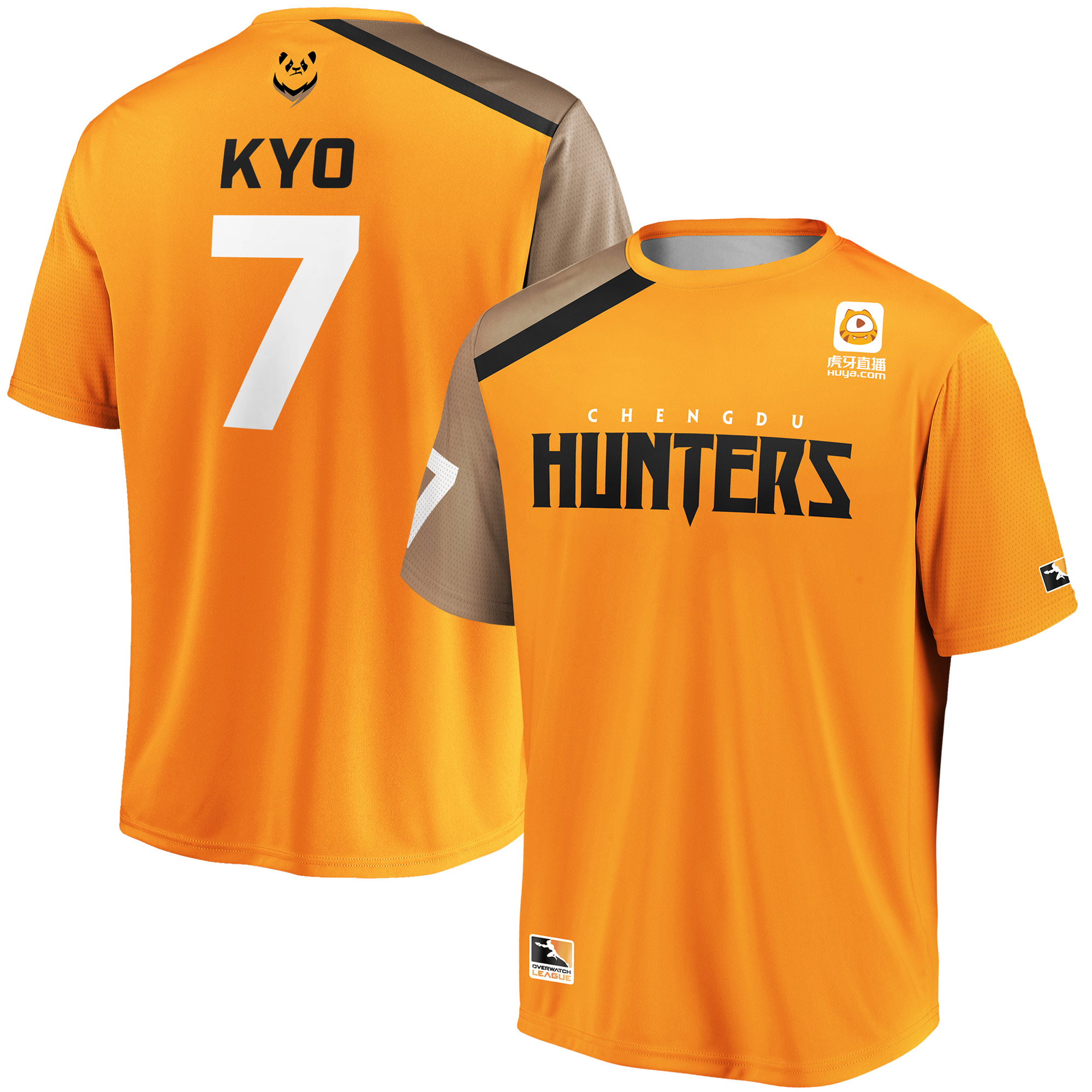 Kyo Chengdu Hunters Overwatch League Replica Home Jersey - Orange
