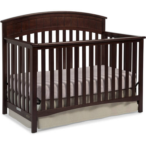 Graco Charleston 4 in 1 Convertible Crib Espresso